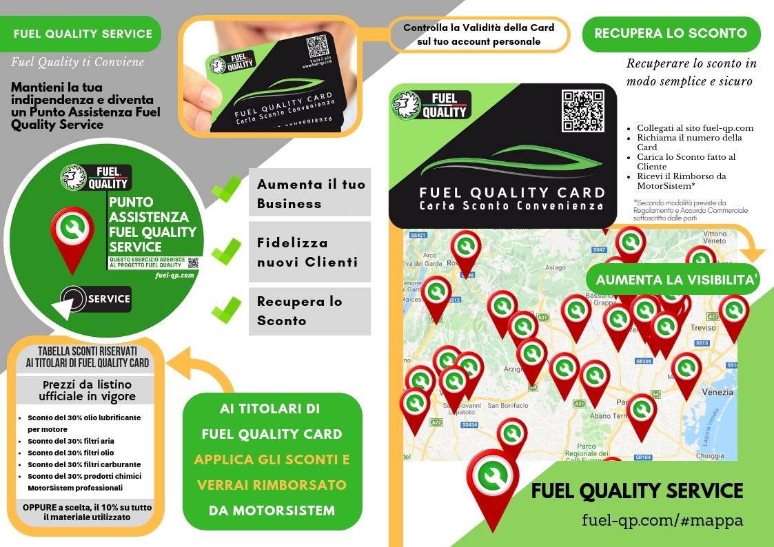 officina meccanica Fuel Quality